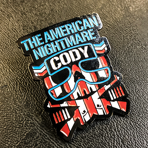 Cody Bullet Club Lapel Pin