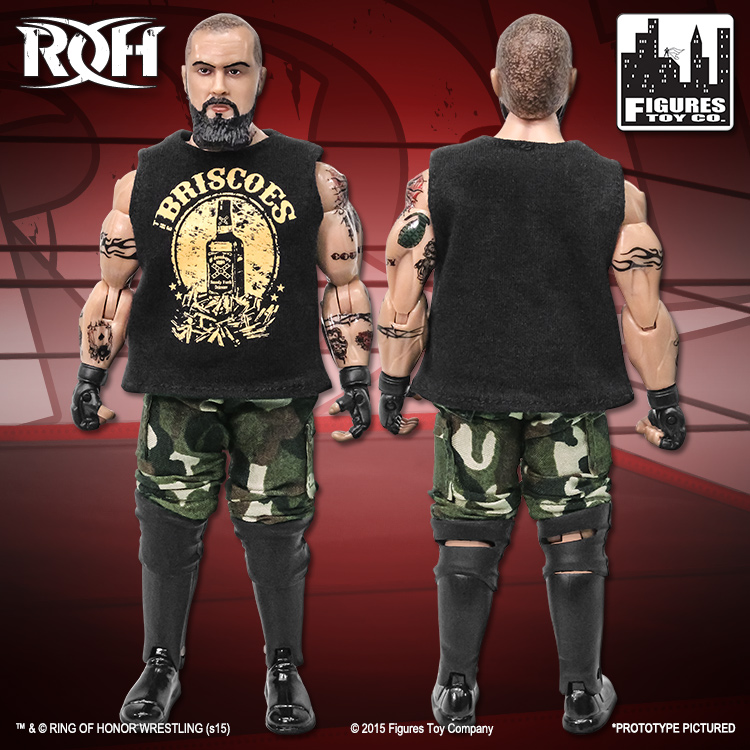 Jay Briscoe ROH ROH Series 1 Action Figure