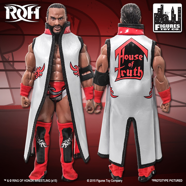 Jay Lethal ROH ROH Series 1 Action Figure