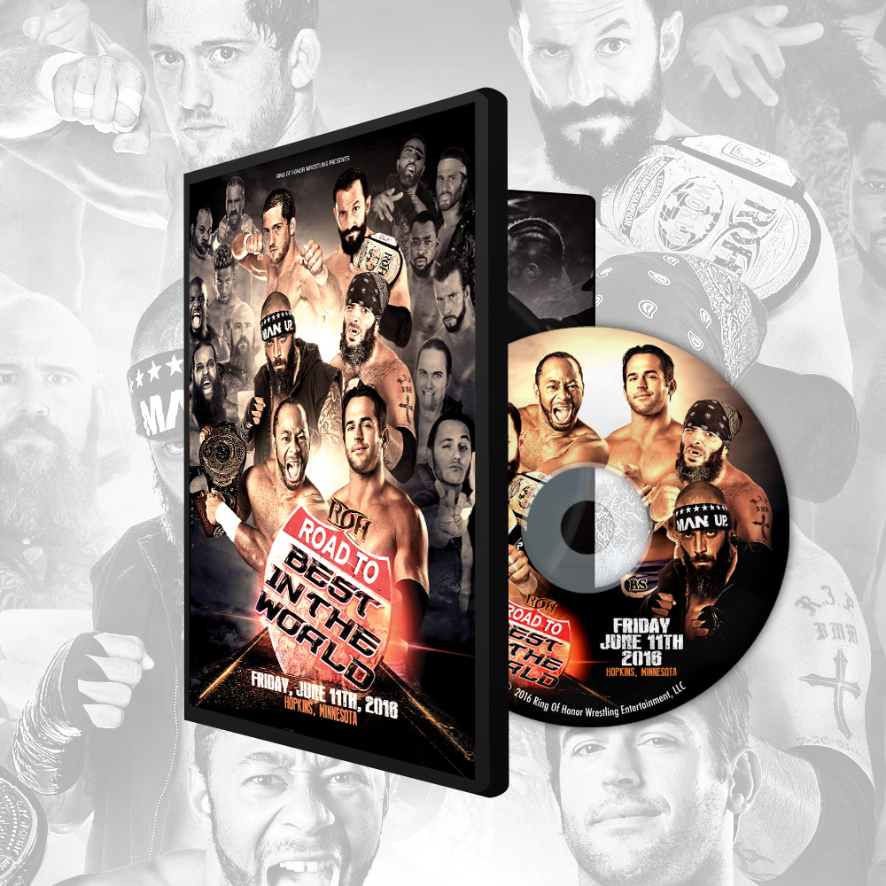 061116 road to bitw hopkins mn dvd roh wrestling