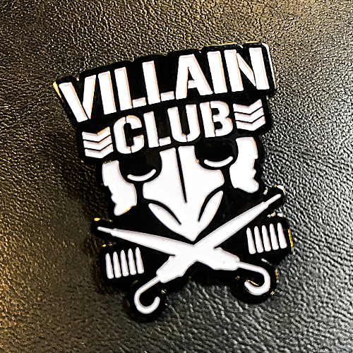 Marty Scurll Villain Club Lapel Pin