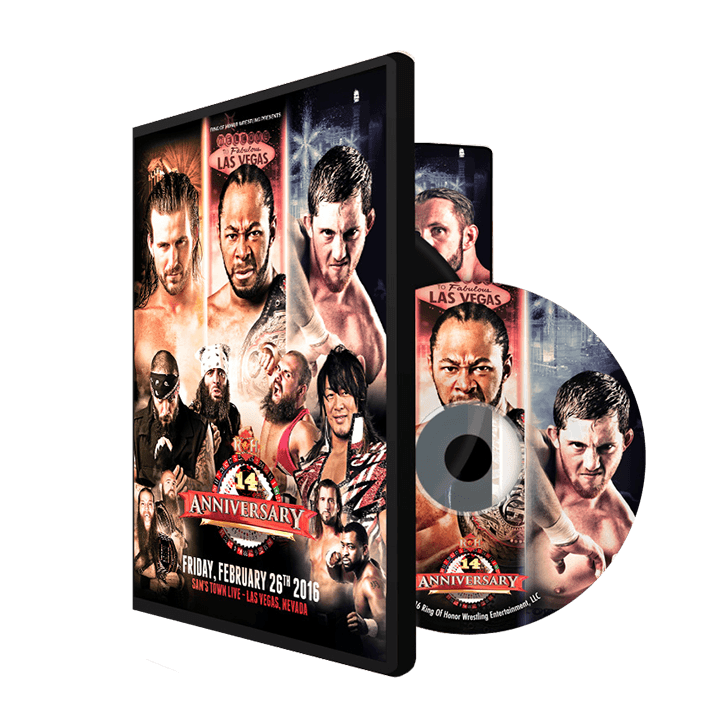 02/26/16 14TH ANNIVERSARY PPV - LAS VEGAS, NV (DVD)