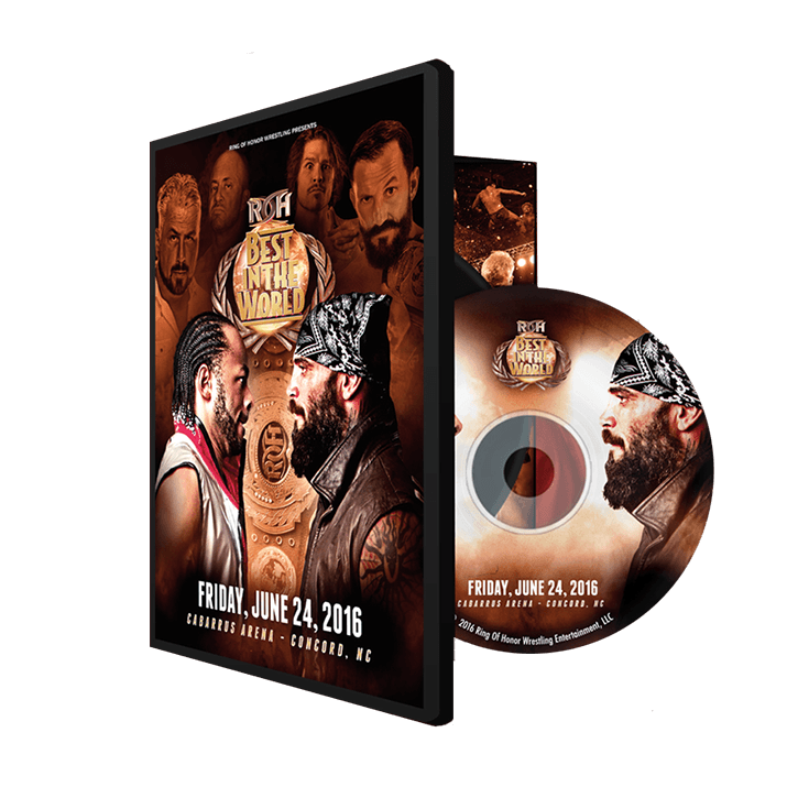 06/24/16 BEST IN THE WORLD - Concord, NC (DVD)