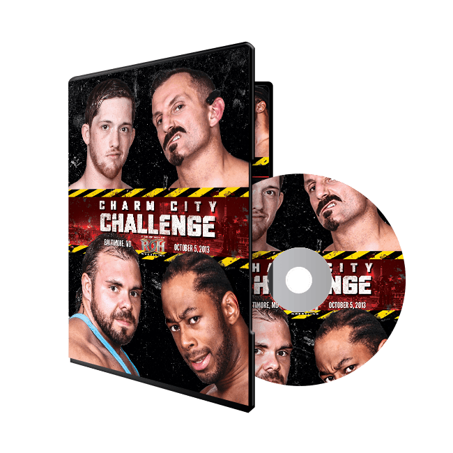 CHARM CITY CHALLENGE - 10/5/13 BALTIMORE, MD (DVD)