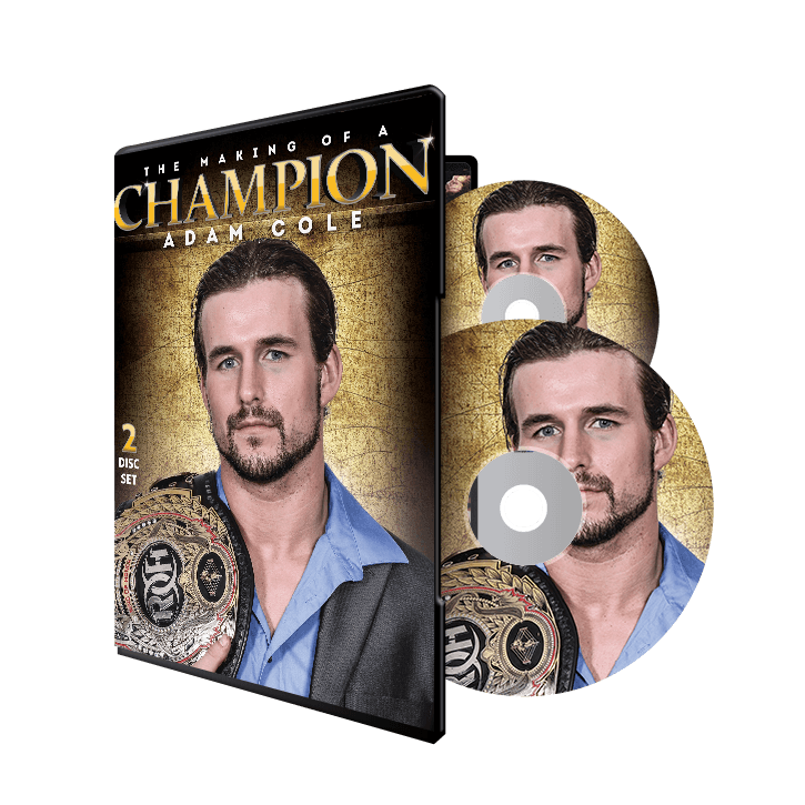 ADAM COLE: THE MAKING OF A CHAMPION (2 DISC) DVD