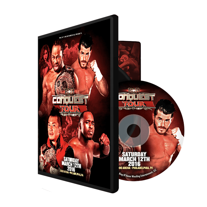 03/12/16 THE CONQUEST TOUR - Philadelphia, Pa (DVD)