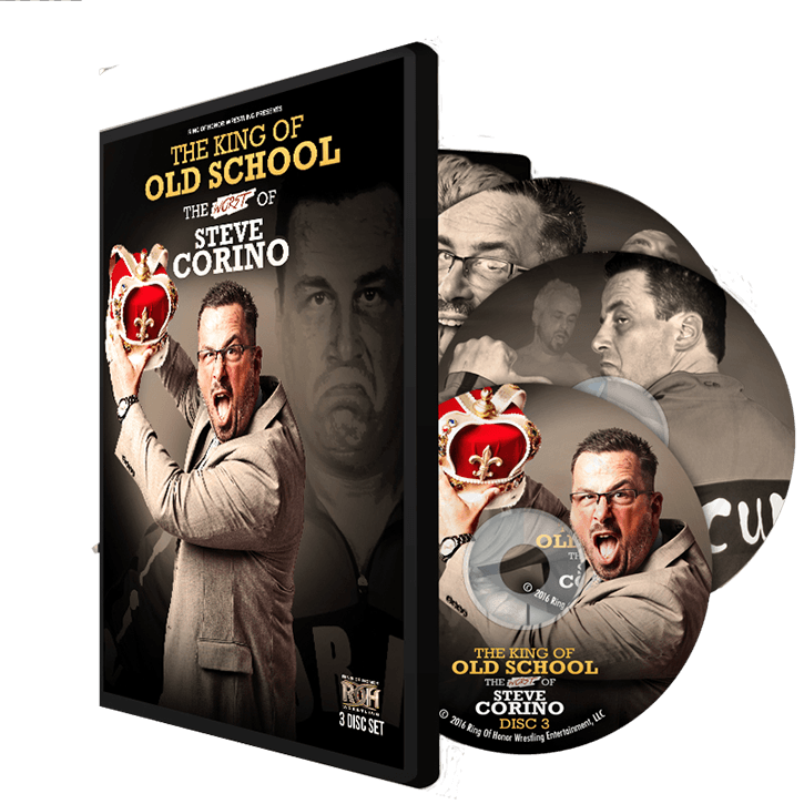 THE KING OF OLD SCHOOL: THE WORST OF STEVE CORINO (3 DISC) DVD