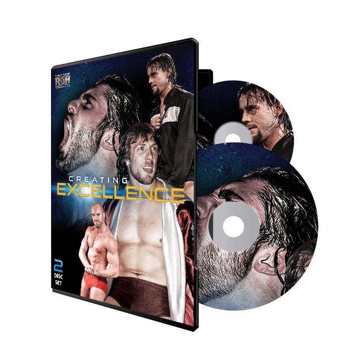 ROH CREATING EXCELLENCE (2 DISC DVD)