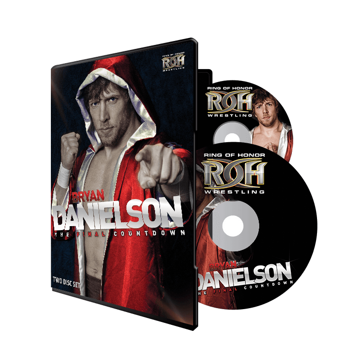 BRYAN DANIELSON: THE FINAL COUNTDOWN DVD (2 DISC SET)