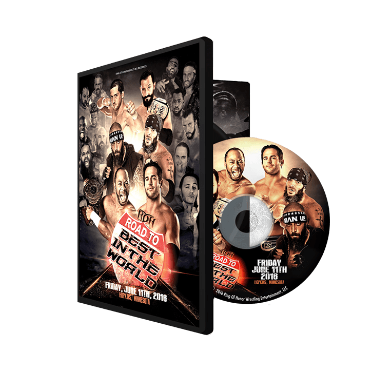 06/11/16 Road to BITW - Hopkins, MN (DVD)