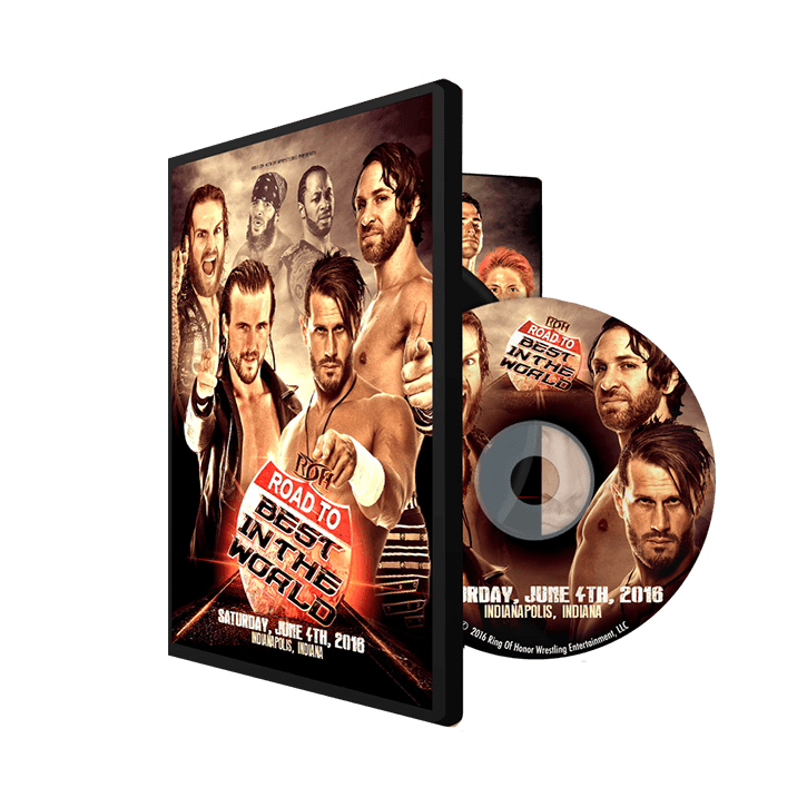 06/04/16 Road to BITW - Indianapolis, In (DVD)
