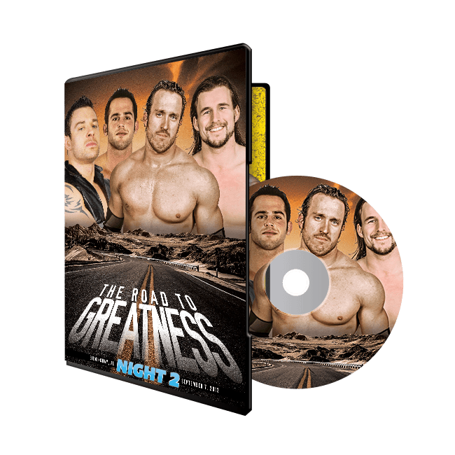The Road To Greatness Night 2- Birmingham, AL 9/7/13 (DVD)
