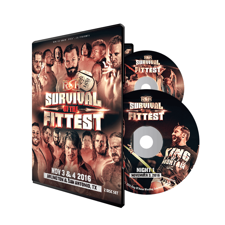 11/03/16-11/04/16 SURVIVAL OF THE FITTEST DVD-TEXAS
