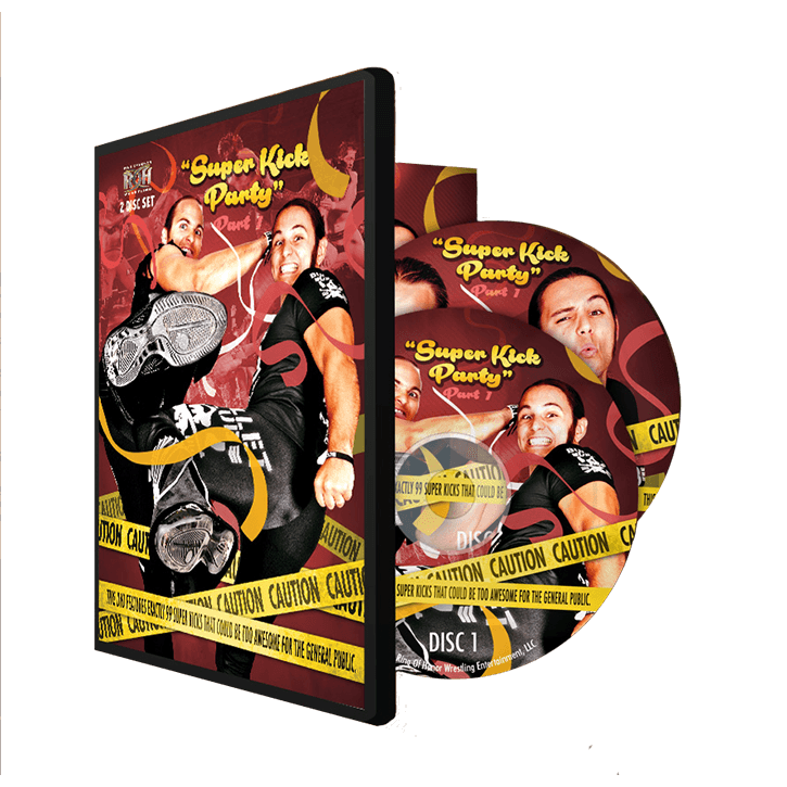 THE YOUNG BUCKS: SUPERKICK PARTY PART 1 (2 DISC DVD)