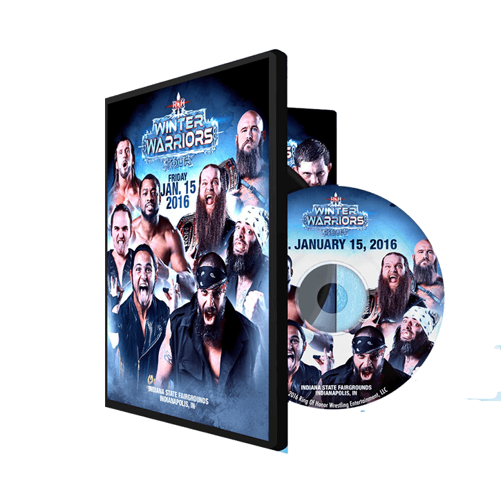 01/15/16 WINTER WARRIORS TOUR - Indianapolis, IN (DVD)