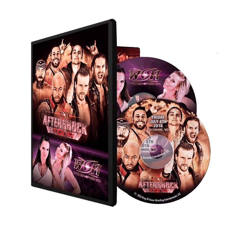 07/08/16 AFTERSHOCK & WOMEN OF HONOR - BALTIMORE, MD