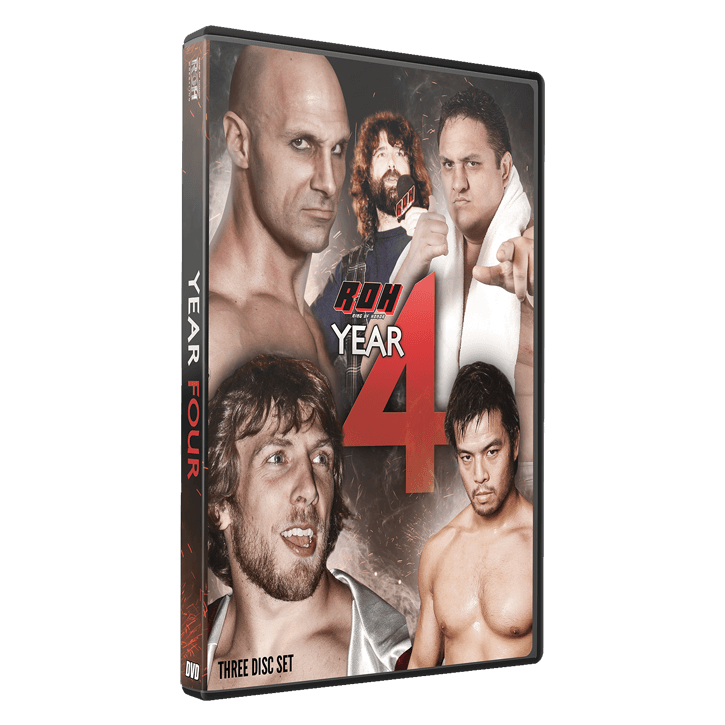 RING OF HONOR: YEAR FOUR (3 DISC DVD)