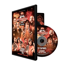 02/27/16 14TH ANNIVERSARY TV TAPING - LAS VEGAS, NV (DVD)