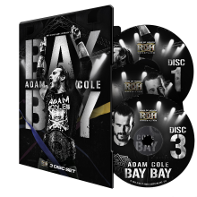 Adam Cole Bay Bay 3-Disc DVD