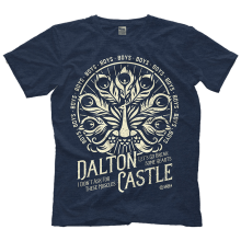 DALTON CASTLE  LETS GO BREAK SOME HEARTS T-SHIRT