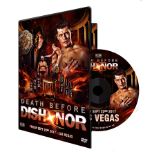 Death Before Dishonor XV DVD - Las Vegas, NV 09/22/17
