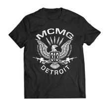 MOTOR CITY MACHINE GUNS MCMG T-SHIRT