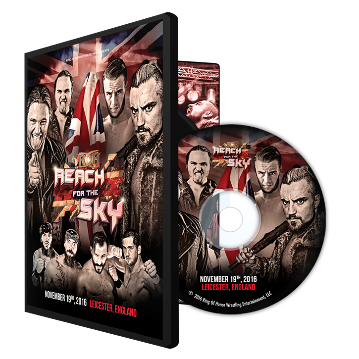11/19/16 REACH FOR THE SKY TOUR - LEICESTER, UK (DVD)